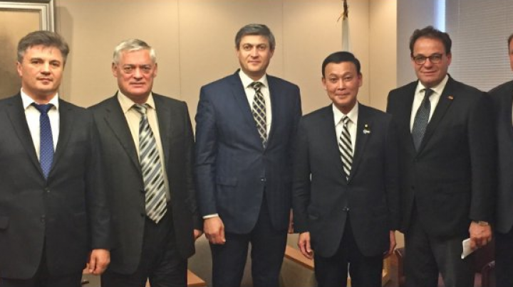 Moldovan Secretary General of FEIM Anatol Vangheli discussed advancement of bilateral cooperation with officials from Japan