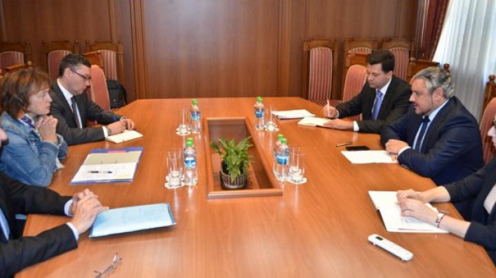 Moldovan, European officials approach reforms