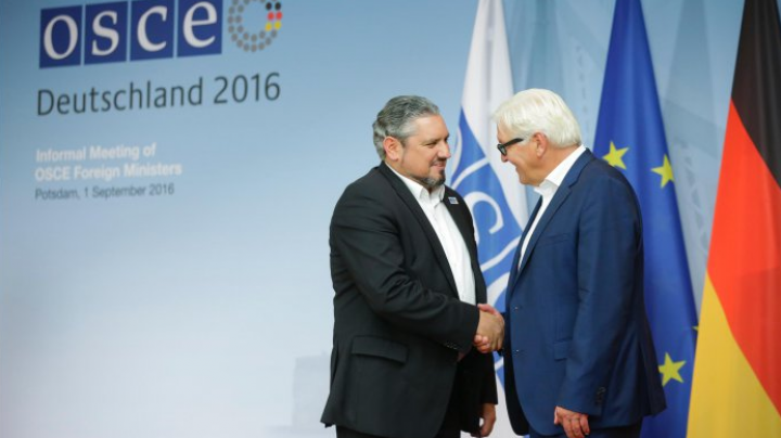 Moldovan foreign minister speach at informal OSCE meeting in Germany
