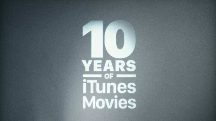 Apple celebrates 10 years of movies with 10-movie bundles for $10