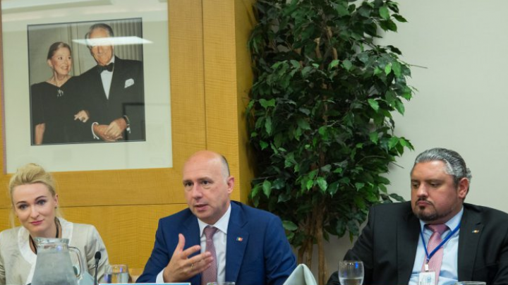 Moldovan PM meets representatives of Jewish organisations from United States