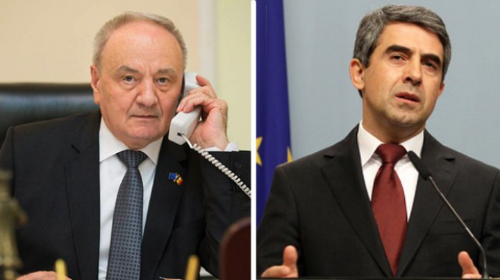 Moldovan, Bulgarian presidents have phone conversation