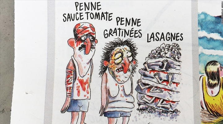 Charlie Hebdo may face legal charges, after mocking Italian quake victims