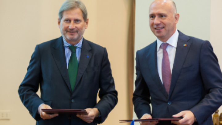 EU commissioner says Moldova makes essential progress, mainly stabilizing situation