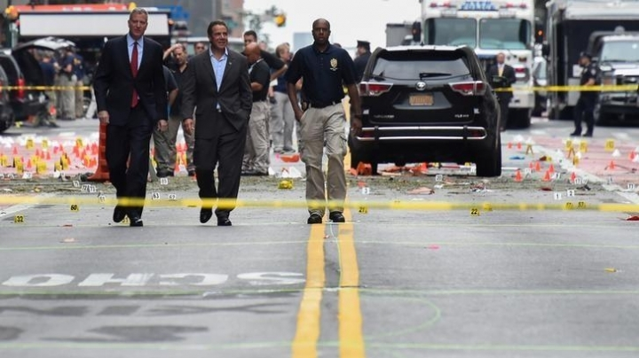 Authorities identify suspect in New York explosion, after finding five potential bombs