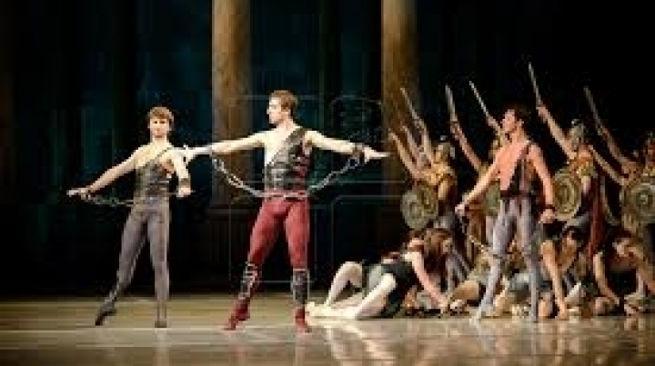 "Grace and Artistry! ""Spartacus"" ballet show played for first time in Chisinau"