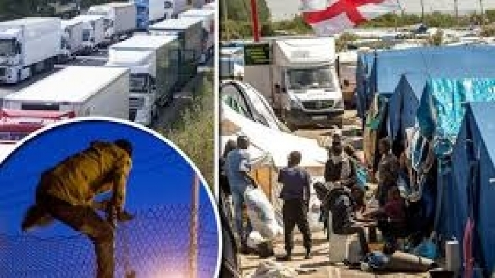 Britain to build 13ft high wall in Calais to block refugees from entering the UK