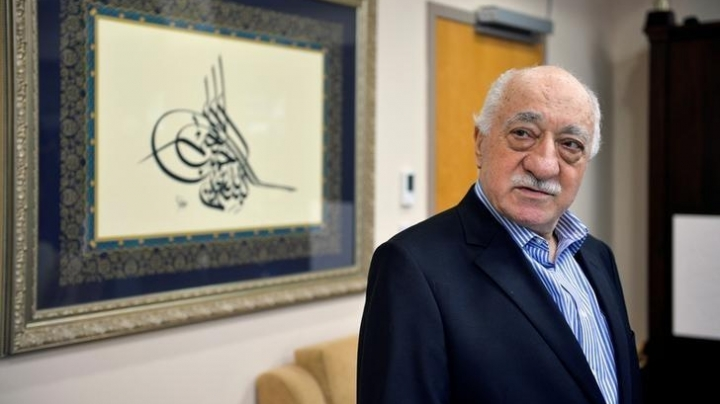 Turkey formally requests USA to arrest Turkish cleric Fethullah Gulen over failed coup