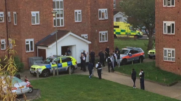 Manhunt after man and woman shot dead in London