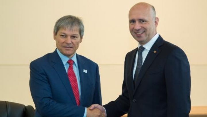 Romanian and Moldovan Prime Ministers agree to step up cooperation