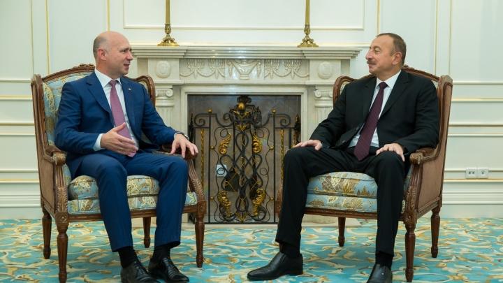Prime minister Pavel Filip met president of Azerbaijan, Ilham Aliev