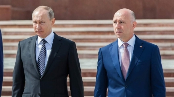 Russia's Vladimir Putin tells Moldova's Pavel Filip Moscow is ready for dialogue