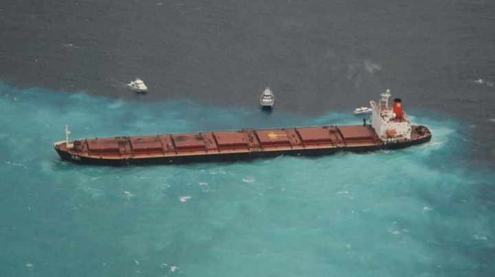 Chinese coal ship to pay $29m for causing damage to Great Barrier Reef