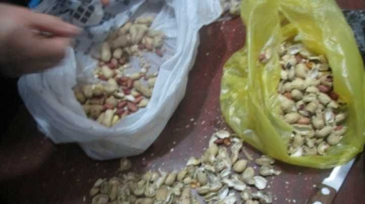 Peanuts with drugs found at Soroca penitentiary