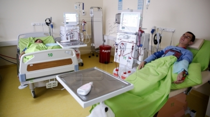 Dialysis center visited by tourists. More and more foreigners prefer to be treated in Moldova