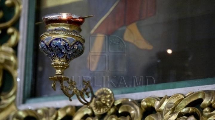 Ceremony of Metropolitan Banulescu Bodoni's canonization attended by politicians
