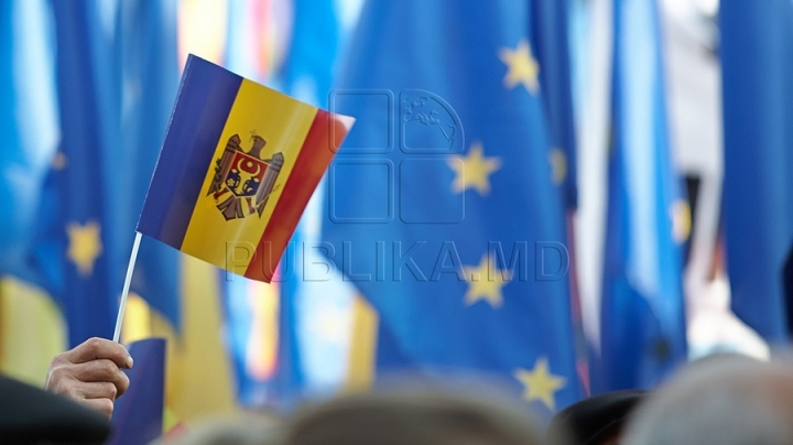 European Caravan reached Calarasi. Dumitru Diacov discussed problems with population