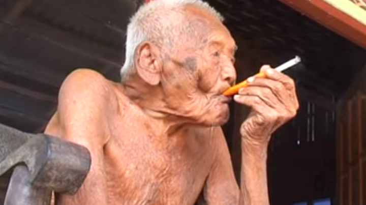 Indonesian man is world's oldest. Has strange and unique wish