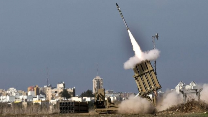 Israel's anti-missile shield deters rocket launched from Syria