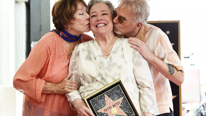 Kathy Bates receives a star on Hollywood Walk of Fame