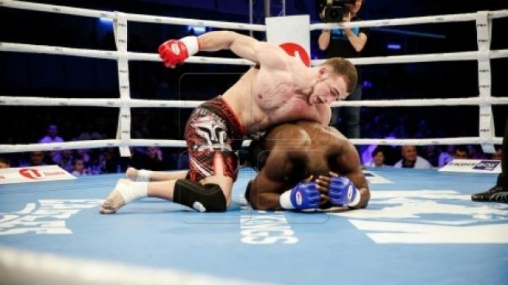 K-1 fighter Sergiu Morari won championship belt, Vitalie Moisei lost fight through a KO
