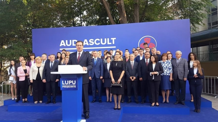 DP candidate Marian Lupu launches in electoral campaign: I am a supporter of European integration