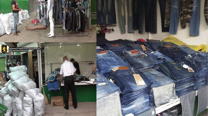 Bad luck for a businessman. Police seized goods worth one million lei