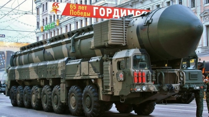 Ukrainian spies learn Russia would ready for nuclear war