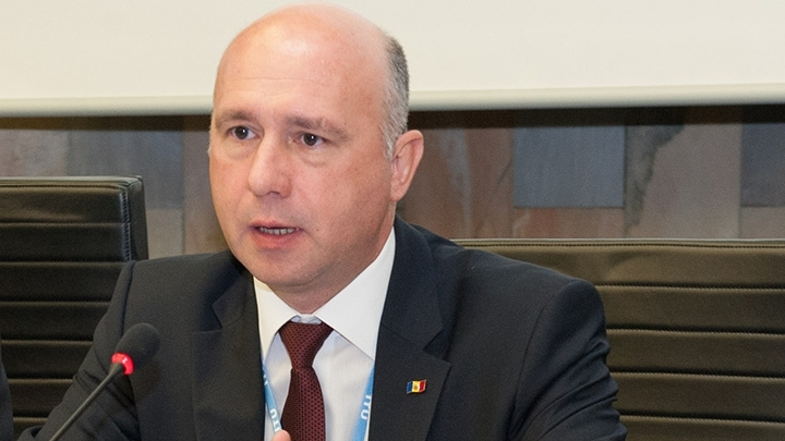 Prime minister Pavel Filip: Our government is committed to European integration