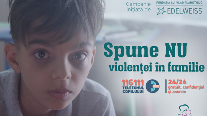 "Say NO to violence against children. Video spot of social campaign ""Protected Families"""