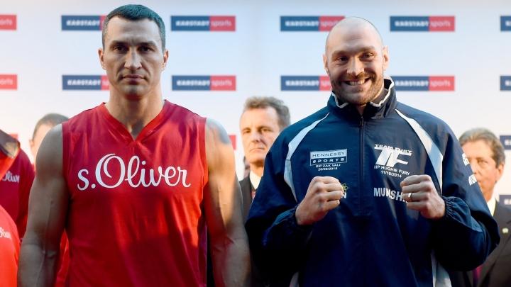 Date of rematch between Tyson Fury and Wladimir Klitschko was confirmed