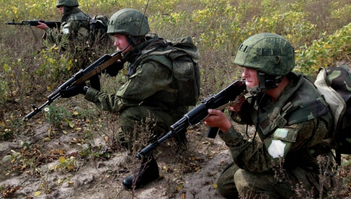 Russian military started new drills in Moldova's eastern area