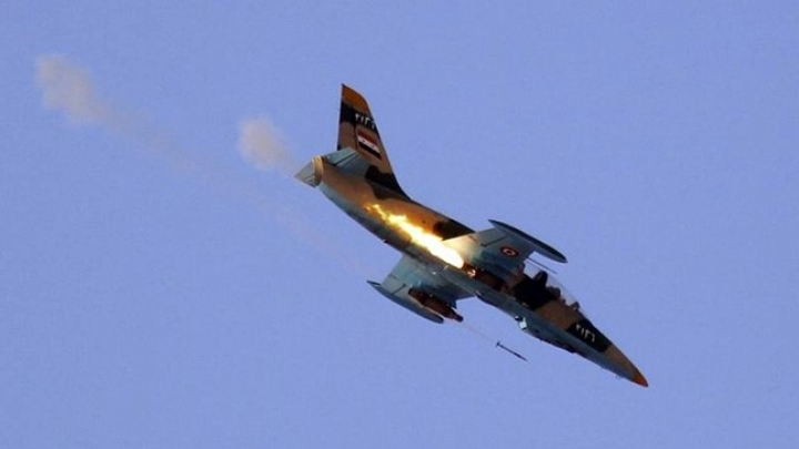 Syrian warplane downed by ISIS. Pilot killed: reports