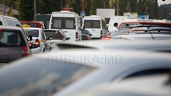 Sudden controls were carried out near Northern Bus Station in Chisinau