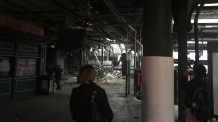 Hoboken train crash: 'Three dead' and more than 100 people injured after NJ Transit train derails