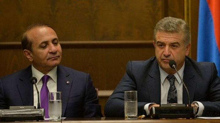 Gazprom deputy CEO Karen Karapetyan was named as Armenian prime minister