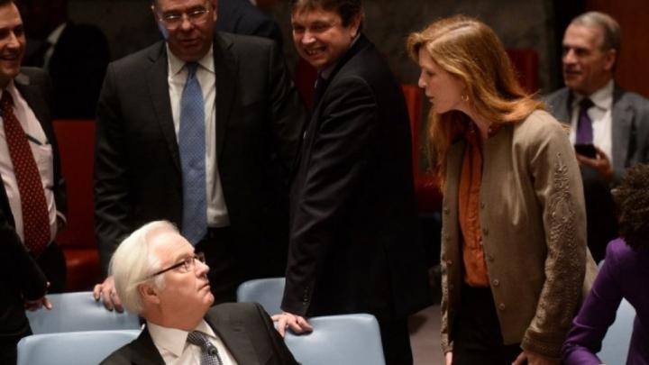 U.S. airstrikes cause American-Russian brawl at U.N. Security Council
