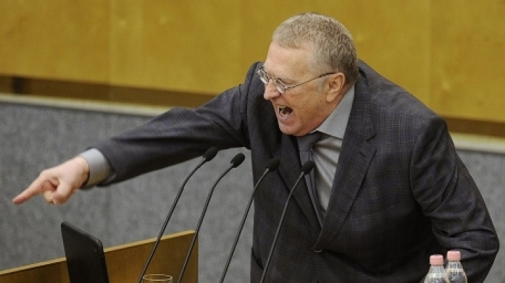Ultranationalist Zhirinovsky intones 'God, save the tsar', after receiving medal in Kremlin (VIDEO)