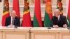 President Timofti decorates Belarus leader Lukashenko with Moldova's Supreme State Award