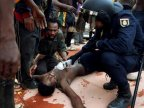 Hundreds of asylum seekers assaulted Spanish enclave in Africa