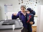 MOLDOVA'S PRESIDENTIAL ELECTIONS may be considered VALID. Over 1/3 voted