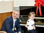 Moldova's little Mozart came home