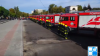 Welcoming ceremony of new intervention vehicles for emergency situations (Video)
