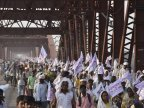 Stampede in northern India kills more than 20 at religious ceremony