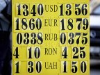 EXCHANGE RATE 24 October 2016. Moldovan leu asends as to euro