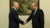 Moldovan Prime Minister Pavel Filip meets Swedish speaker, Urban Ahlin