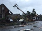 2 tornadoes hit Oregon, more storms are expected on Saturday, 15 October 2016