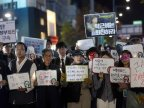 Protestors demand South Korean president resignation