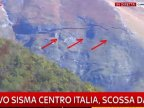 Italy's earthquake literally cracked a mountain