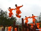 11th International Shaolin Wushu Festival starts in Henan Province of China